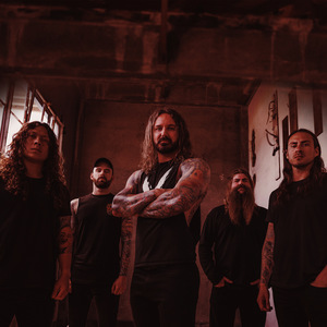 As I Lay Dying concert at Volkshaus, Zurich on 10 October 2019