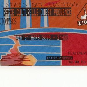 Dionysos concert at LES DOCKS, Lausanne on 08 April 2020
