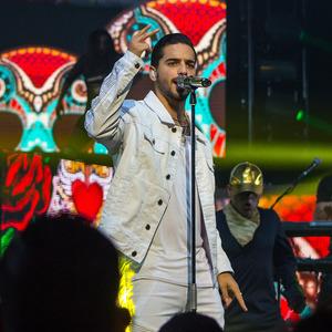 Maluma concert at Ondrej Nepela Arena, Bratislava on 26 February 2020