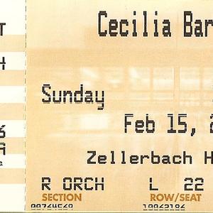 Cecilia Bartoli concert at Teatro alla Scala, Milan on 28 October 2019
