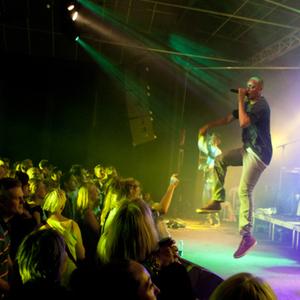 Wafande concert at Vaerket, Randers on 15 February 2020