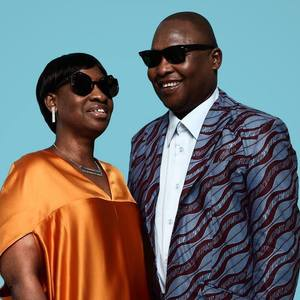 Amadou & Mariam concert at Gurtenfestival, Bern on 15 July 2020