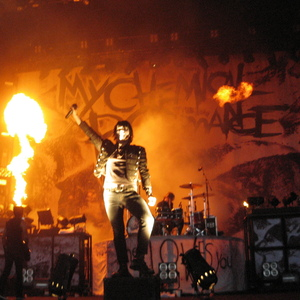 My Chemical Romance concert at Intex Arena, Osaka on 28 March 2020