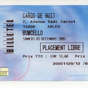 Bumcello concert at La Grange à Musique (GAM), Creil on 22 February 2020