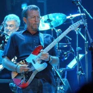 Eric Clapton concert at Unipol Arena, Bologna on 08 June 2020