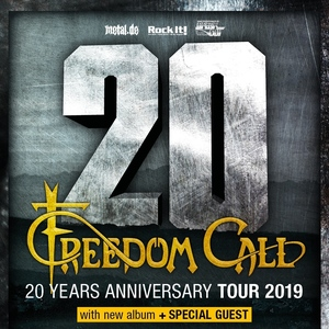 Freedom Call concert at Musikzentrum, Hannover on 12 April 2020